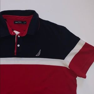Nautica Mens Polo Shirt XXL